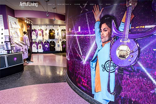 Prince Paisley Park Mall of America Design